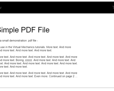 Easy PDF Viewer Previewer - RSV PDF Preview