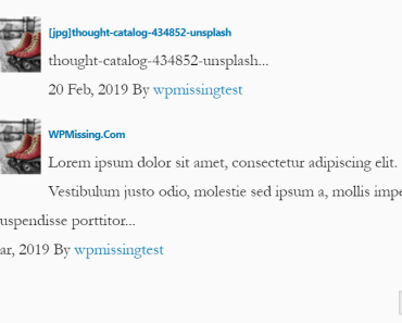 Related Post With AJAX Pagination Widget For Wordpress