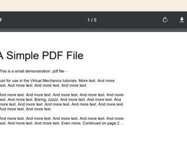 Minimal PDF Embed Plugin For Gutenberg - PDF Block