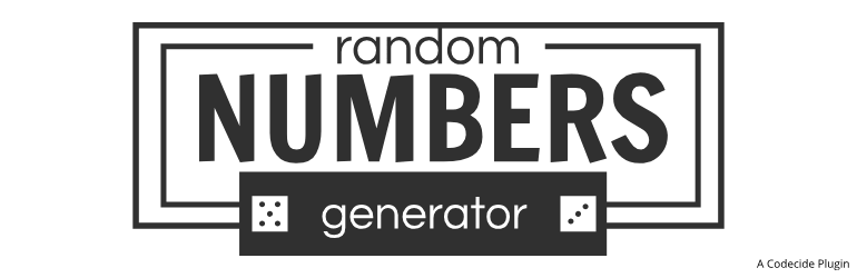 Generate Random Numbers With Shortcodes