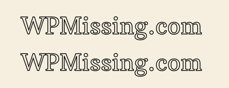 SVG Text Path Animation WordPress Plugin - SVG Title