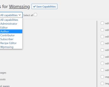 Custom Role CreatorAll Capabilities