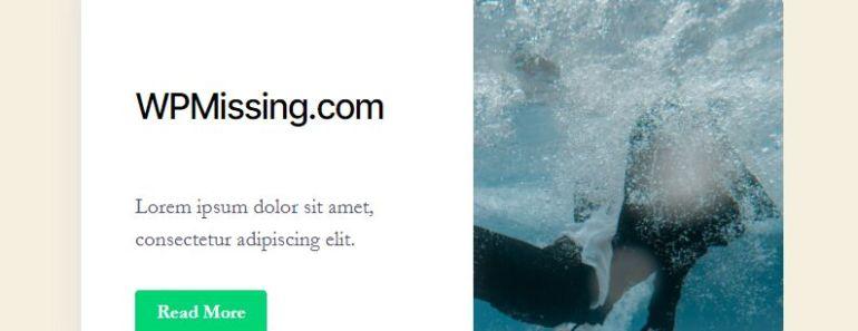 Beautiful Feature Box Block For Gutenberg Editor