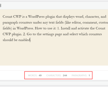 word-character-paragraph-counter