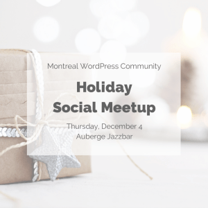 Holiday Social Meetup