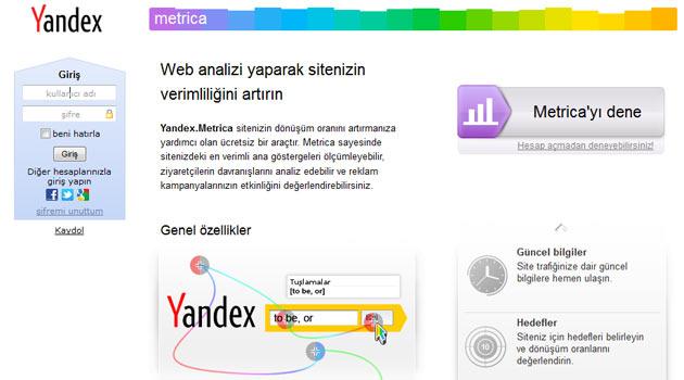 WordPress Sitelerinize Yandex Metrica Ekleyin
