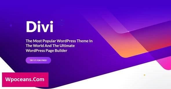 Divi v4.9.11 - Elegantthemes Premium WordPress Theme
