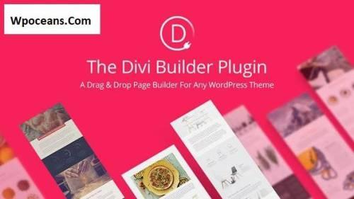 Divi Builder v4.10.3 - Drag & Drop Page Builder WP Plugin