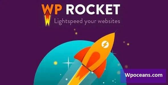WP Rocket v3.9.1 - WordPress Cache Plugin(Wpoceans.com)