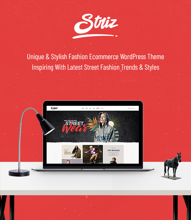 Striz Unique & Stylish Fashion Ecommerce WordPress Theme