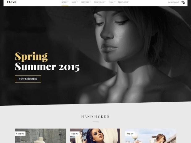 Flevr-best premium wordpress store themes