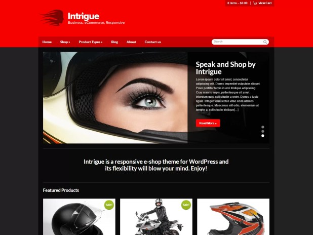 Intrigue-best premium wordpress store themes