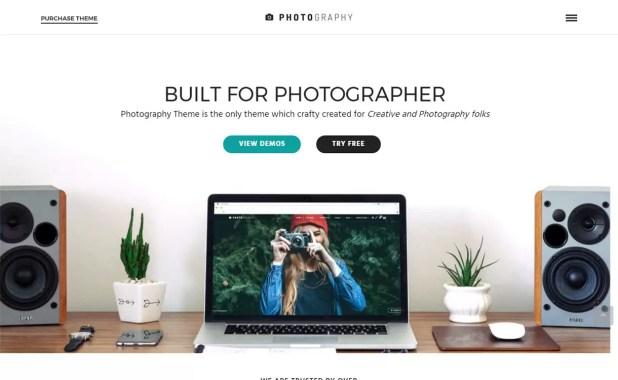 Photography - Top 5 Premium Photography WordPress Themes