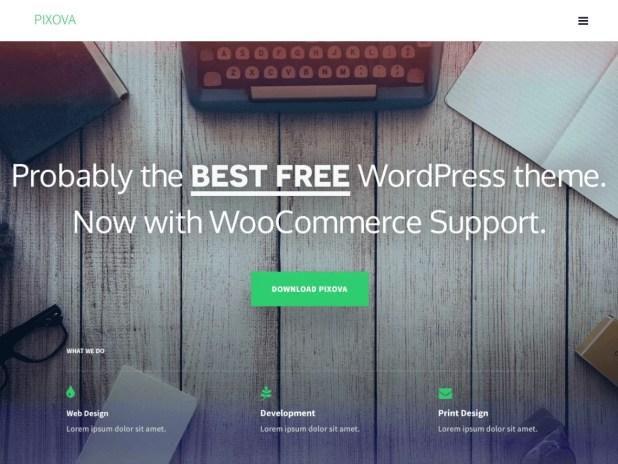 pixova-lite-free one-page wordpress themes