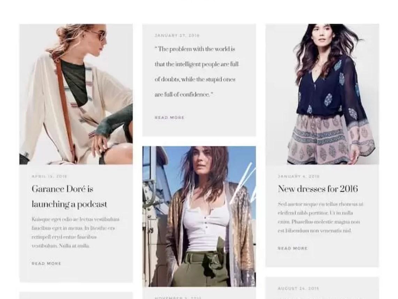 Aesthetic-premium blogging theme