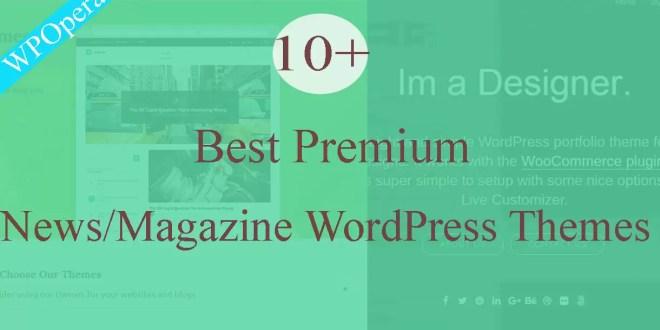 10+ Best Premium Magazine WordPress Themes 2017