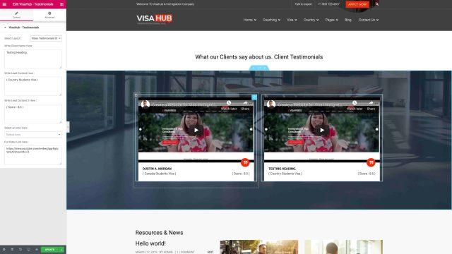 Video Testimonials Style Three
