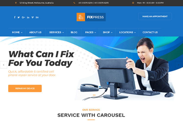 fixpress-repairing-wordpress-theme