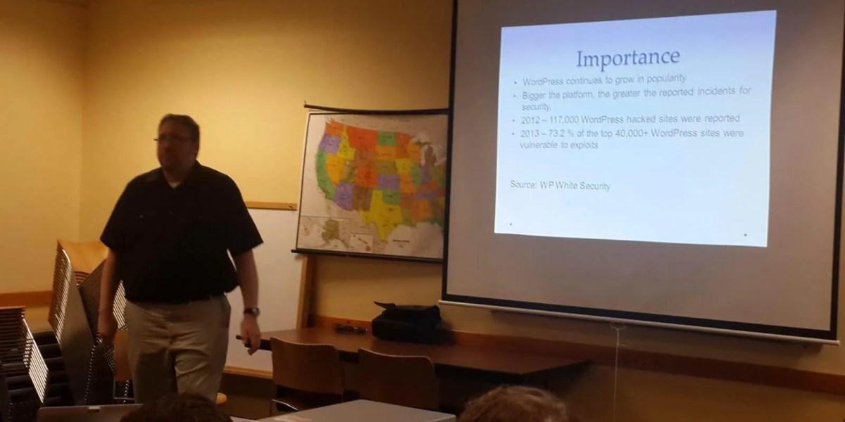 Russ Sanderlin – Securing your WordPress Site