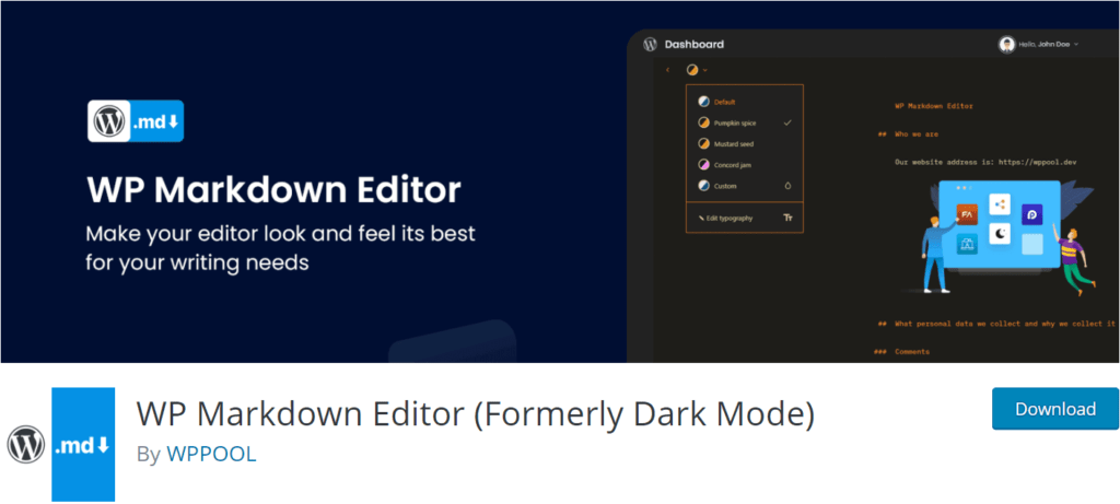 WP Markdown Editor review