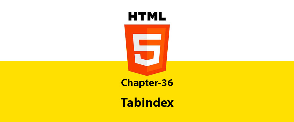 Chapter 36: Tabindex