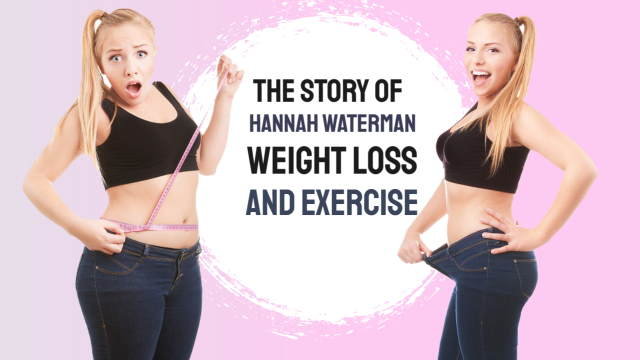 """Image introduces this article with the text """"Hannah Waterman weight loss."""""""