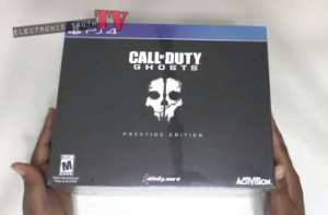Unboxing Call of Duty Ghosts Prestige Edition