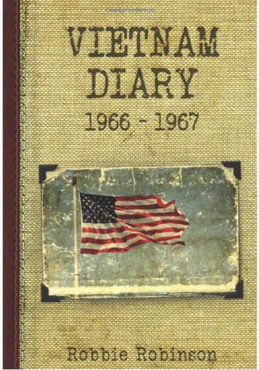 Robbie Robinson Vietnam War Diary book cover.