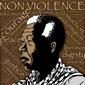 Mandela was every bit the guy who had a great effect on people and was at all times non-violent.