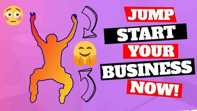 Image about jump starting your business now!