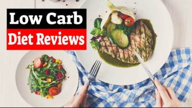 Low carb diet reviews featured image.