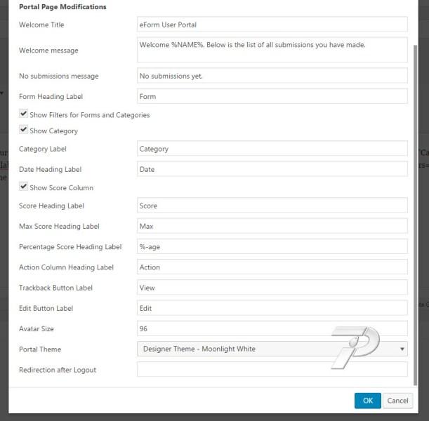 eForm-UP-Shortcode-Portal