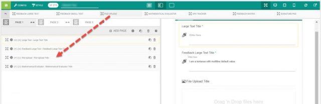 File Upload Element