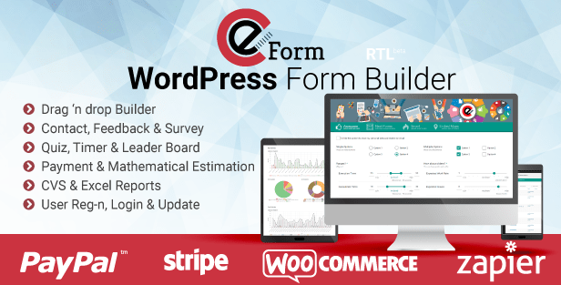 eForm WordPress Form Builder