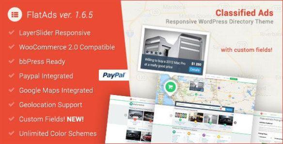 FlatAds WordPress Theme