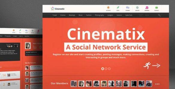 cinematix wordpress theme