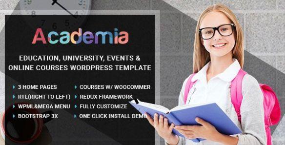 Academia WordPress Theme