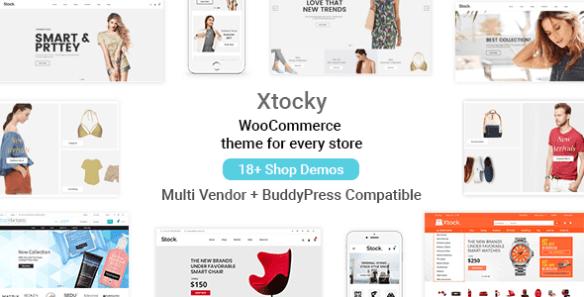 Xtocky Wordpress Theme