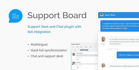 Support Board Wordpress Plugin
