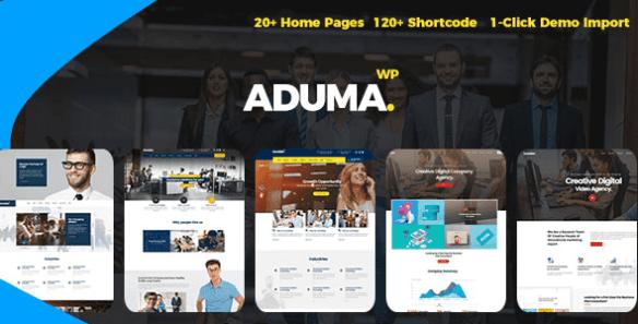 Aduma Wordpress Theme