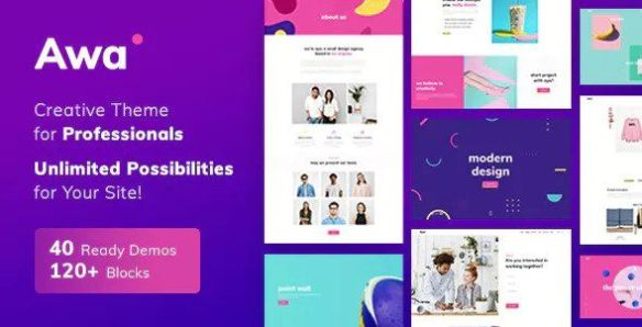 AWA WordPress Theme