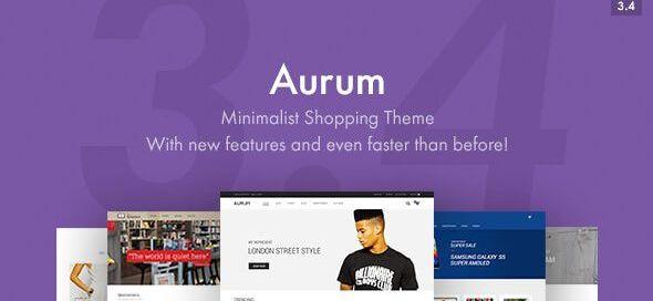 Aurum Wordpress Theme