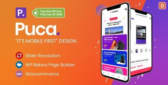 Puca WordPress Theme