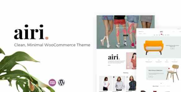 Airi WooCommerce Theme of WordPress Theme for Online Stores