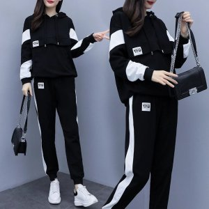 hoodie and jogger set womens