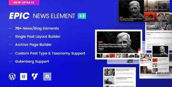 Epic News Elements