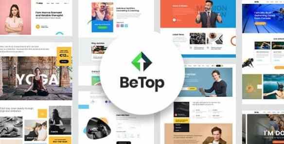BeTop Coaching WordPress Theme