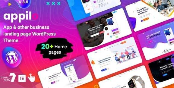 appilo-app-landing-page-wordPress-theme