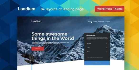 landium-landing-page-theme