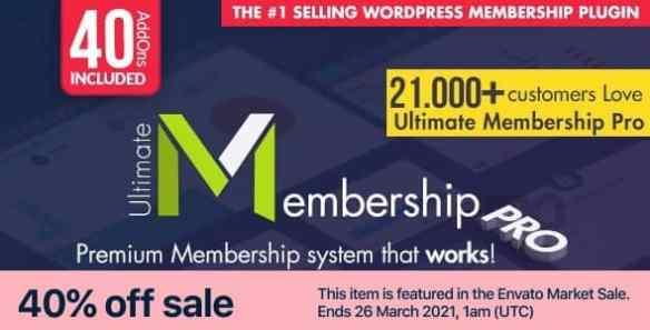 Ultimate Membership Pro WordPress Membership Plugin